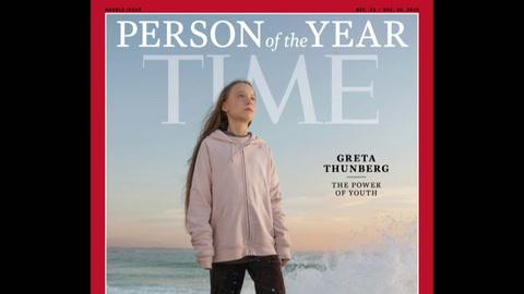 Trump dice que Greta Thunberg debería