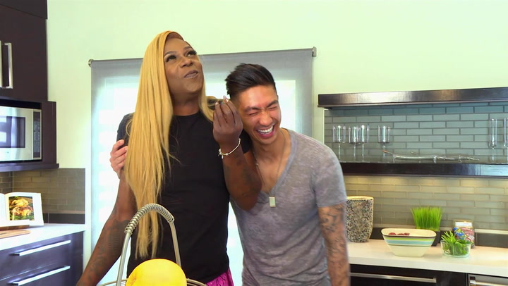Big Freedia and Celeb Chef Ronnie Woo Get Steamy in the Kitchen