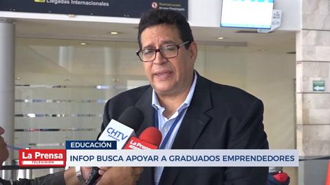 INFOP busca apoyar a graduados emprendedores
