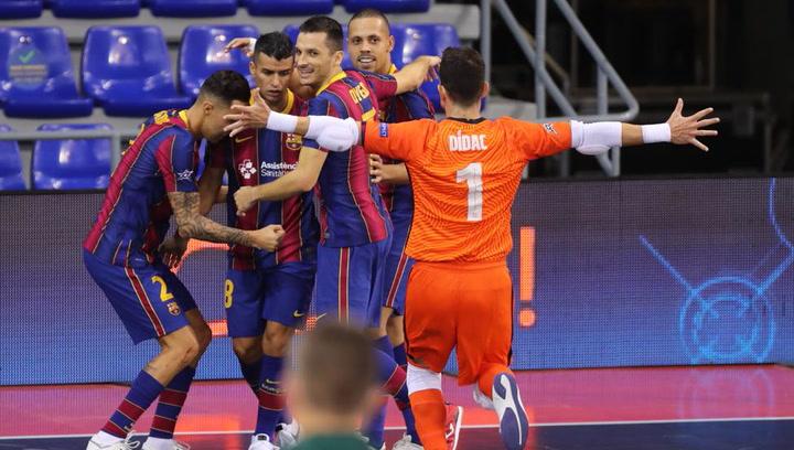 Mira lo mejor de la final de Champions de Fútbol Sala conquistada por el FC Barcelona ante ElPozo