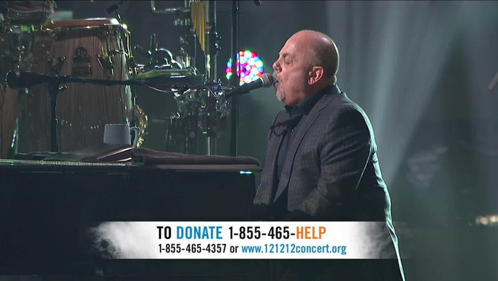 """Billy Joel Performs """"Miami 2017 (Seen The Lights Go Out On Broadway)"""" - 12-12-12 The Concert for Sandy Relief"""
