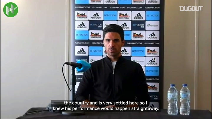 Arteta full of praise for Gabriel and Willian after debuts