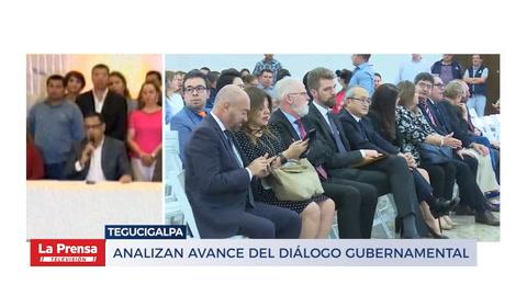 Analizan avance del diálogo gubernamental