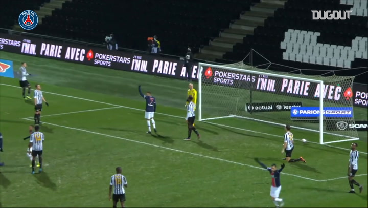 Layvin Kurzawa's opens scoring against Angers in Ligue 1
