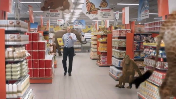 Supermarktmanager uit albert heijn reclames vertrekt nu for Reclame jumbo acteurs
