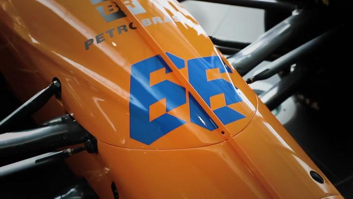 Presentado el McLaren con el que competirá Fernando Alonso en las 500 Millas de Indianápolis