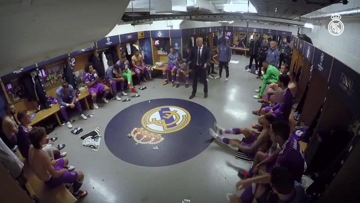 Las redes se revolucionan al rememorar la charla de Zidane en Cardiff