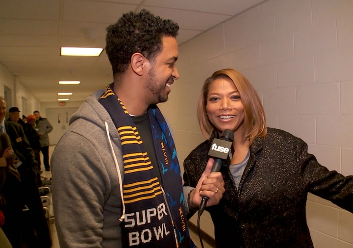 Interviews: Queen Latifah on Singing at Super Bowl & Her Plans to Party With Prince