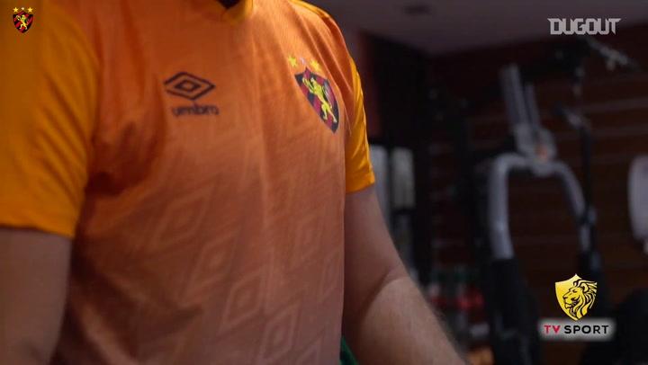 Sport Recife's first training session to face Palmeiras
