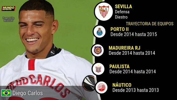 La estadística de Diego Carlos