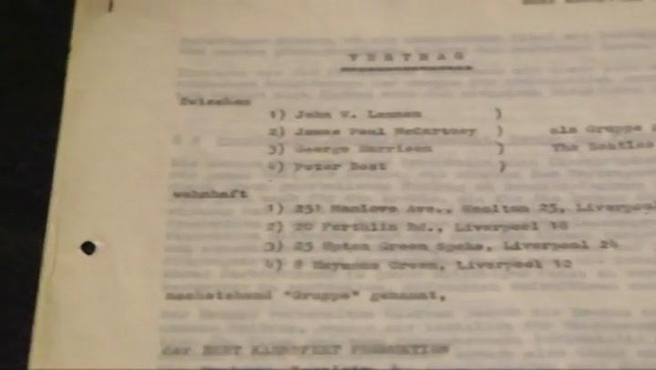 Contract The Beatles geveild