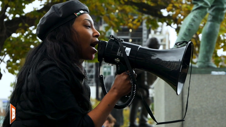 """Take to the Streets and F*ck the British Police"" Says Black Panther Sasha Johnson"