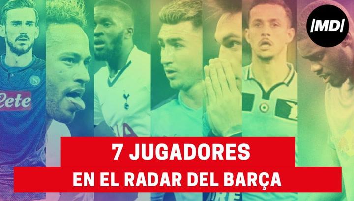 Los 7 jugadores que tiene el Barça en su radar para la próxima temporada