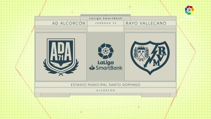 LaLiga SmartBank (J.36): Alcorcón 3-2 Rayo Vallecano