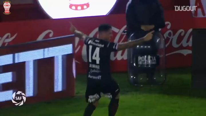 Pablo Álvarez's backheel goal vs Atlético Tucumán