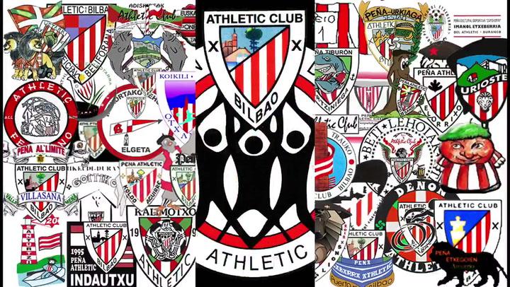 La Agrupación de Peñas del Athletic anima a los 'leones' de cara a las finales de Copa