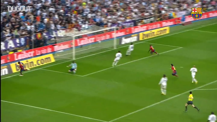 THROWBACK: FC BARCELONA BEAT REAL MADRID 6-2 at BERNABEU ...