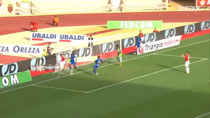 AS Monaco net three against RC Strasbourg