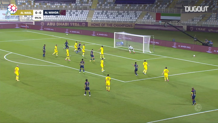 Highlights: Al-Wahda 3-2 Al-Wasl