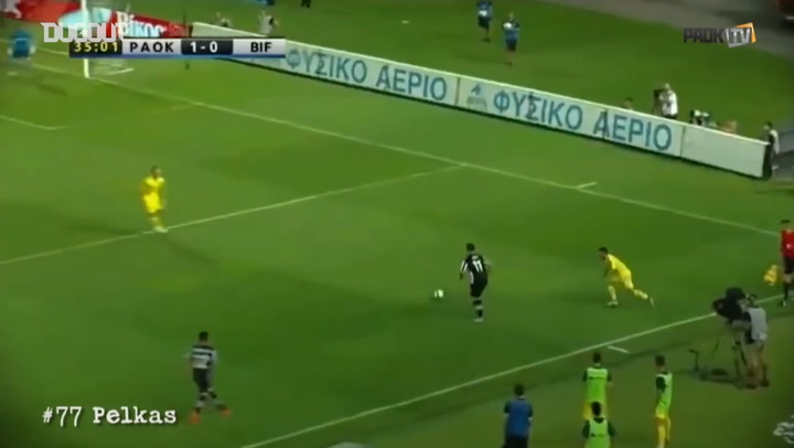 Dimitris Pelkas' best moments with PAOK