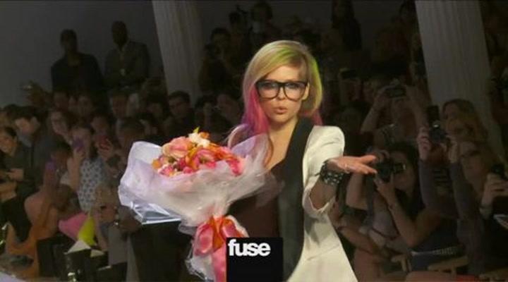 Avril Lavigne Reveals Abbey Dawn At Fashion Week