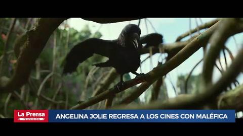 Angelina Jolie regresa a los cines con Maléfica: Dueña del Mal
