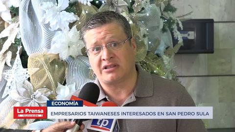 Empresarios taiwaneses interesados en San Pedro Sula