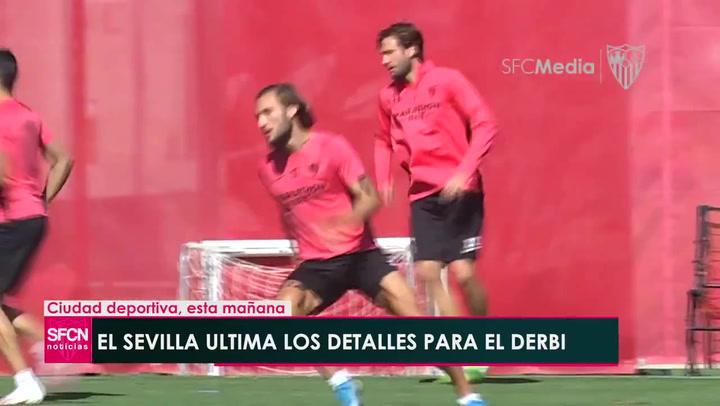 Así llega el Sevilla al derbi