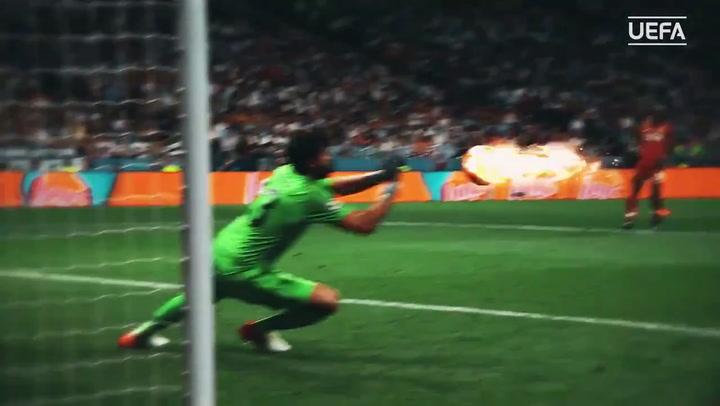 Alisson elegido Mejor Portero de la pasada Champions League en la Gala de la UEFA