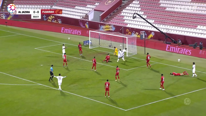 Highlights: Fujairah 0-3 Al-Jazira