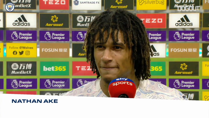 Nathan Aké happy to make debut in Manchester City win