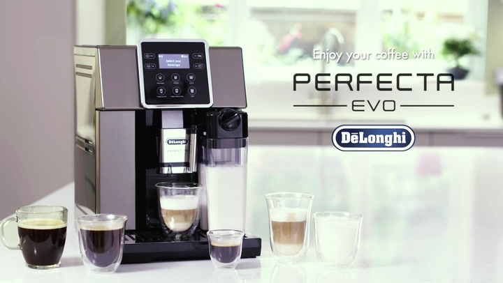 Preview image of Delonghi Perfecta Evo Bean to Cup Coffee Machine video