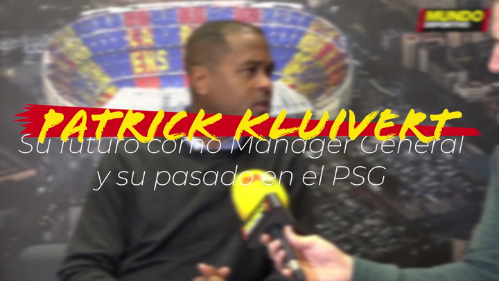Entrevista a Patrick Kluivert: Su futuro como Mánager General y su pasado en el PSG