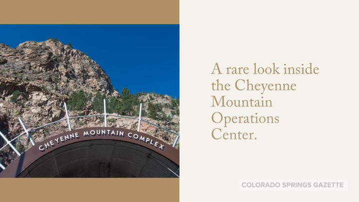 A rare look inside Cheyenne Mountain Operations Center in Colorado Springs