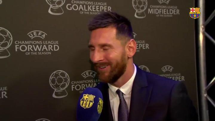 """Messi: """"Tengo muchas ganas de jugar en Dortmund"""""""