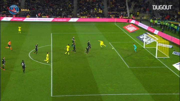 Keylor Navas' incredible save against FC Nantes