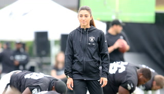 Kelsey Martinez no longer listed on Raiders' coaching staff