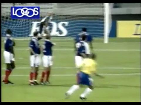 Roberto Carlos y una confesión sobre su golazo de tiro libre