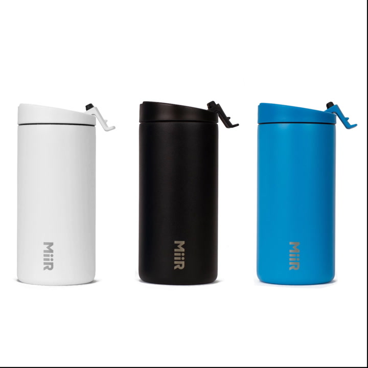 Preview image of MiiR Vacuum Insulated Stainless Steel Travel Tumbl video