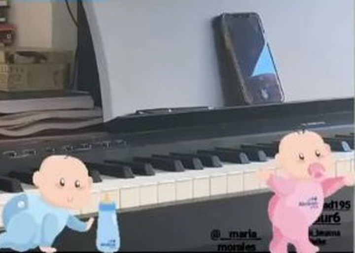 Lorena Gómez compone una canción para el bebé que espera