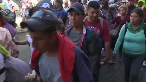 Más de 7.000 migrantes van en caravana hacia EEUU, dice ONU