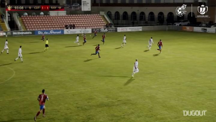 Rayo Vallecano's 20/21 Copa del Rey goals