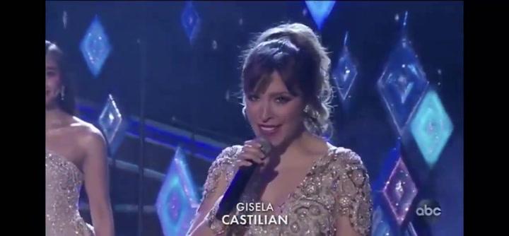 Así fue la actuación de Gisela en los Oscars