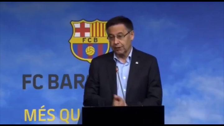 """Bartomeu: """"Sabemos que se quiere ir pero no hay caso Neymar"""""""