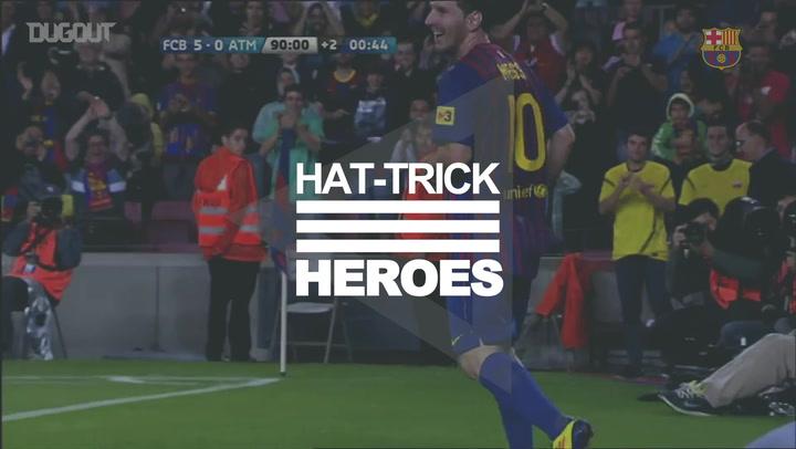 Hat-Trick Heroes: Leo Messi Vs Atlético Madrid