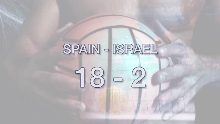 Resumen del España-Israel del Europeo femenino de waterpolo