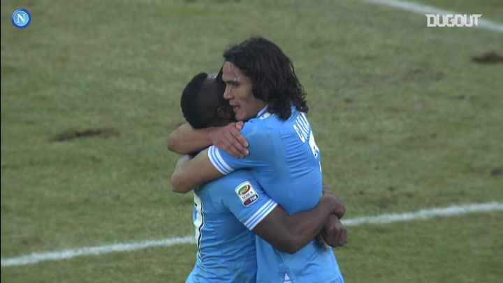 Edinson Cavani's late winner vs Parma