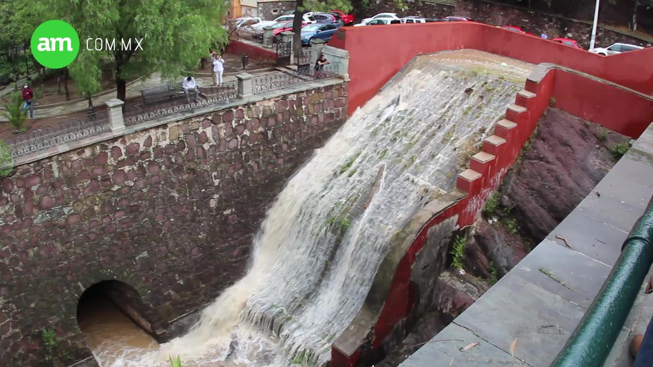 Video: Por mal mantenimiento se inundó Guanajuato
