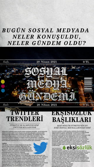 Sosyal medyayı sallayanlar - 20 Nisan