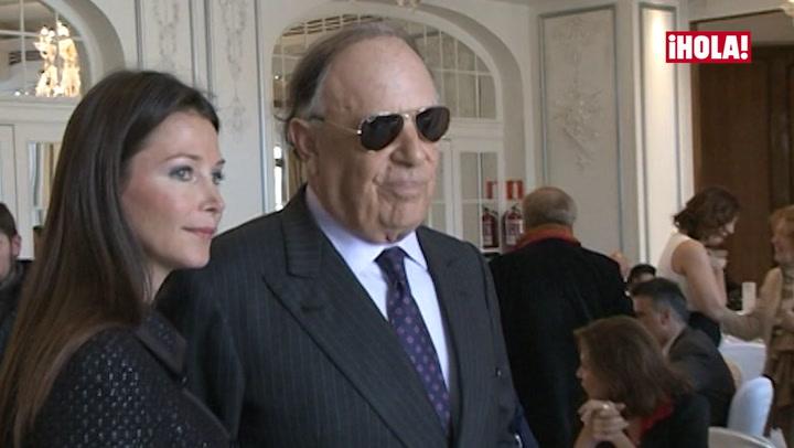 Carlos Falcó y Esther Doña acuden por primera vez juntos a un acto público